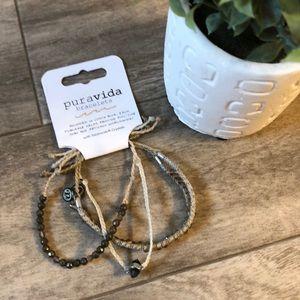 Puravida bracelets NWT